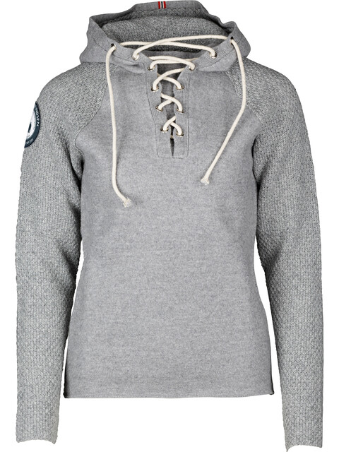 Amundsen Sports M's Boiled Hoodie Laced Light Grey